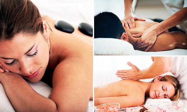 Ontspanningsmassage + chi-massage