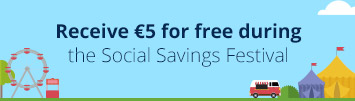 Spaar nu voor <strong>&euro; 5,00 gratis saldo</strong>